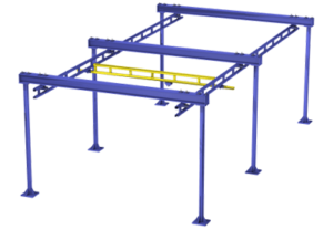 Floor Mounted Bridge Rail | BALANCERSDirect.com