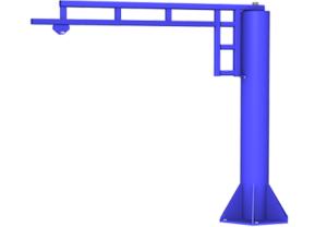 Free Standing Jib Crane | BALANCERSDirect.com